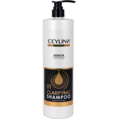 KROK 1 - Vlasový šampon s keratinem / 1000 ml