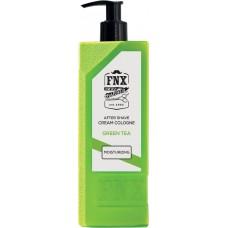 Barber krémová kolínská voda po holení FNX Green Tea / 375 ml