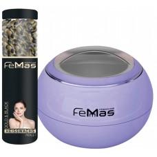 Sada ohřívače vosku a voskových perel FemMas