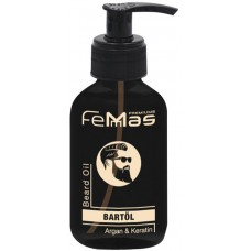Olej na vousy Femmas / Argan & Keratin 100 ml