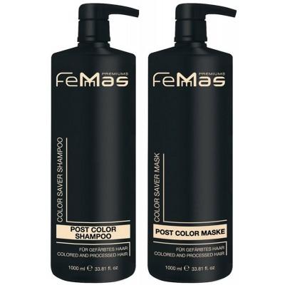Šampon a maska na vlasy FemMas / 2x1000ml