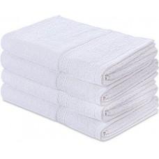 Sada bílých bavlněných ručníků / 12 ks