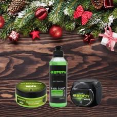 Balíček pro péči o vlasy a vlasový styling / Green