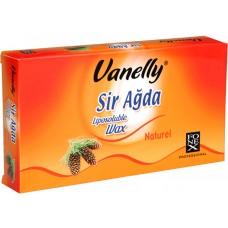 Depilační vosk tabulkový Vanelly Natural / 500 ml