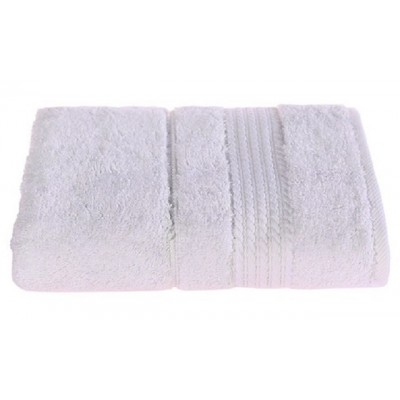 Bavlněný ručník bílý / 50x90 cm