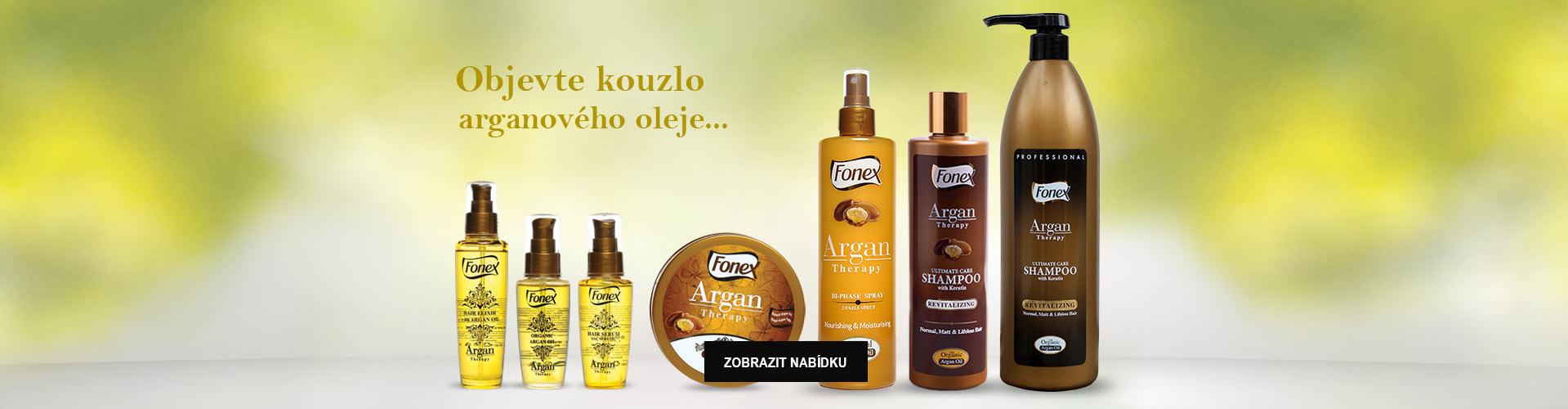 přírodní kosmetika s arganovým olejem