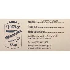 Dárkový voucher / Úprava vousů strojkem