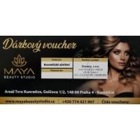 Dárkový voucher na kosmetické ošetření / 1250 Kč