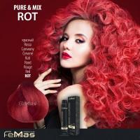 Barva na vlasy Červená