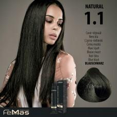Barva na vlasy Femmas Černo-modrá 1.1
