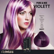 Barva na vlasy Fialová