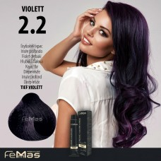 Barva na vlasy Hluboká fialová 2.2