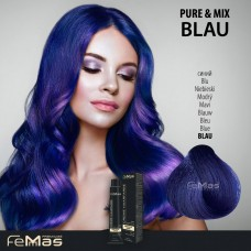 Barva na vlasy Modrá