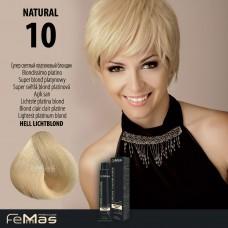 Barva na vlasy Femmas Platinová blond 10