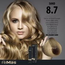 Barva na vlasy Světlá blond písková 8.7