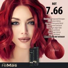 Barva na vlasy Blond červená intenzivní 7.66