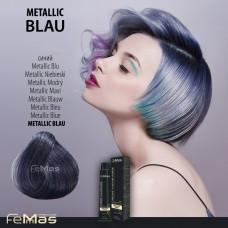 Barva na vlasy Metallic modrá