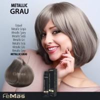 Barva na vlasy Metallic šedá