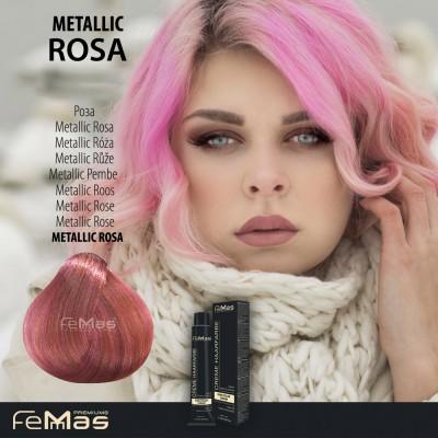 Barva na vlasy Metallic růže