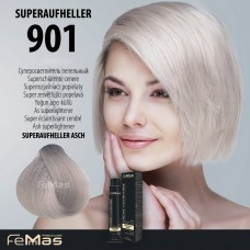 Barva na vlasy Super zesvětlující popelavá blond 901