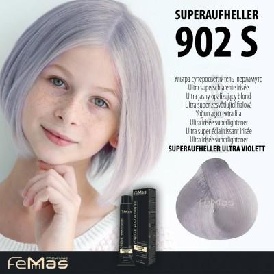 Barva na vlasy Ultra super zesvětlující fialová 902S