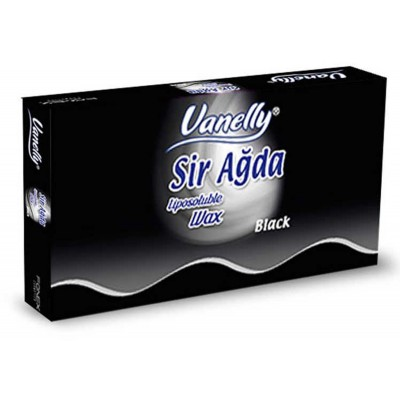 Depilační vosk tabulkový Vanelly Black / 500 ml