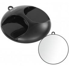 Kruhové zrcadlo černé