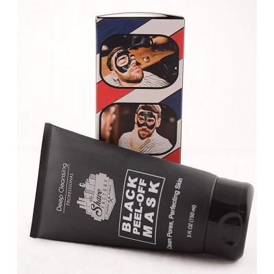 Černá slupovací maska Shaving Factory