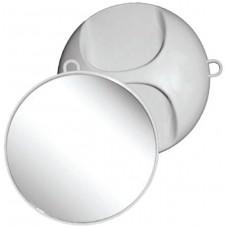 Kruhové zrcadlo bílé