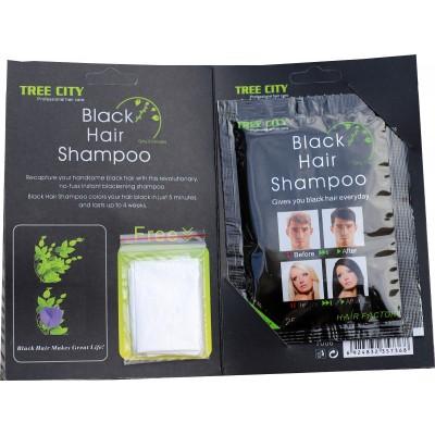 Barevný šampon / Černý