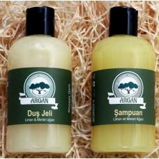 Citronová kosmetika na vlasy a tělo